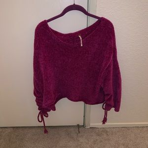 Cropped FP sweater